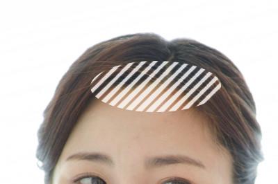 前髪(おでこ・生え際)